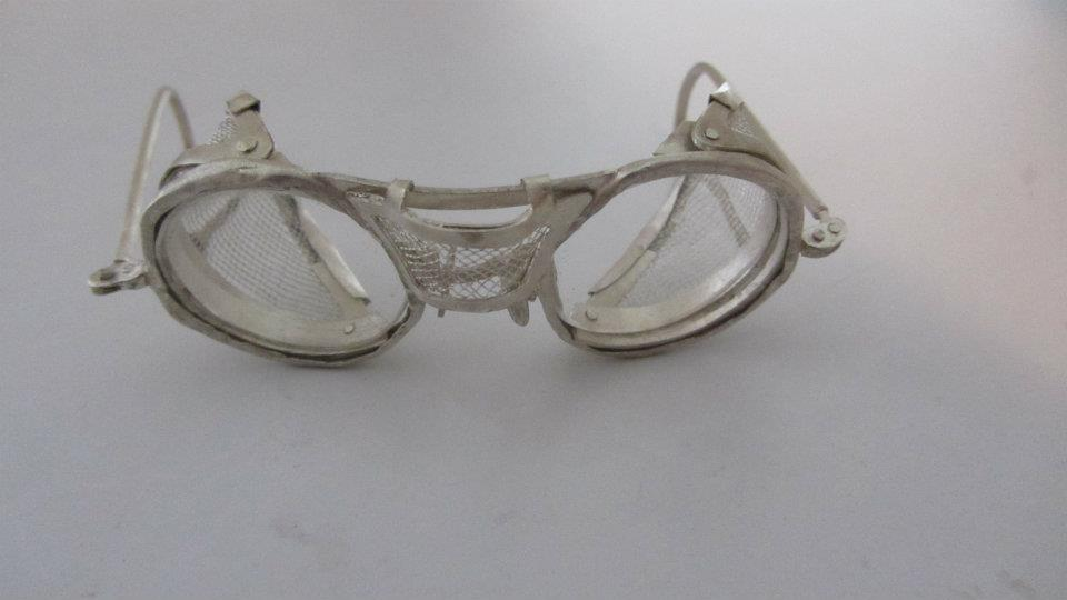 Sterlying Silver Safety Glasses