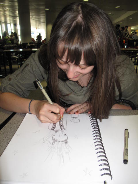 Alexandra Drawing